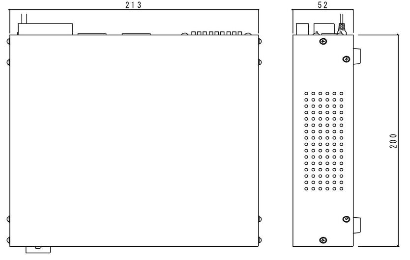 TPS-61外形寸法図